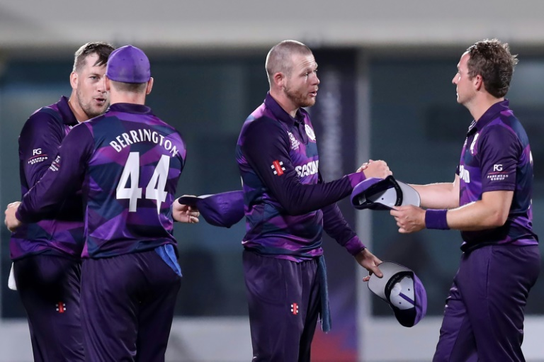 Special delivery as Amazon driver leads Scotland to shock win at T20 World Cup