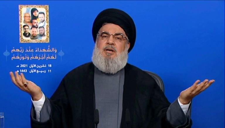 Lebanon Hezbollah chief says movement has 100,000 fighters