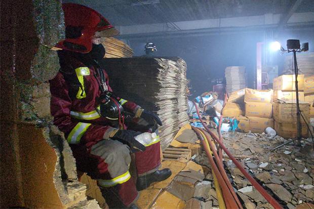Shoe factory fire causes B100m damage