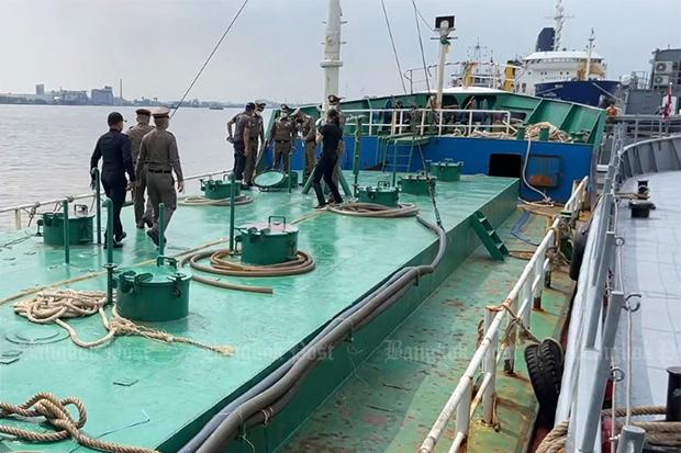 Vessel caught smuggling diesel
