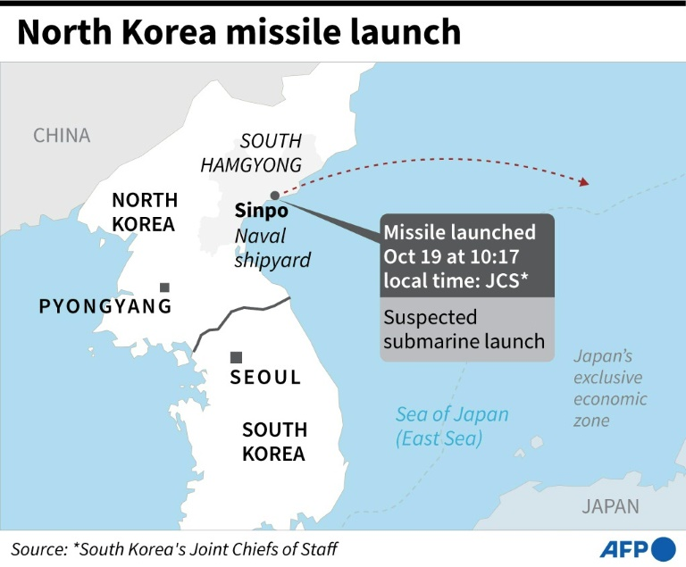 N. Korea tested new 'submarine-launched ballistic missile': KCNA