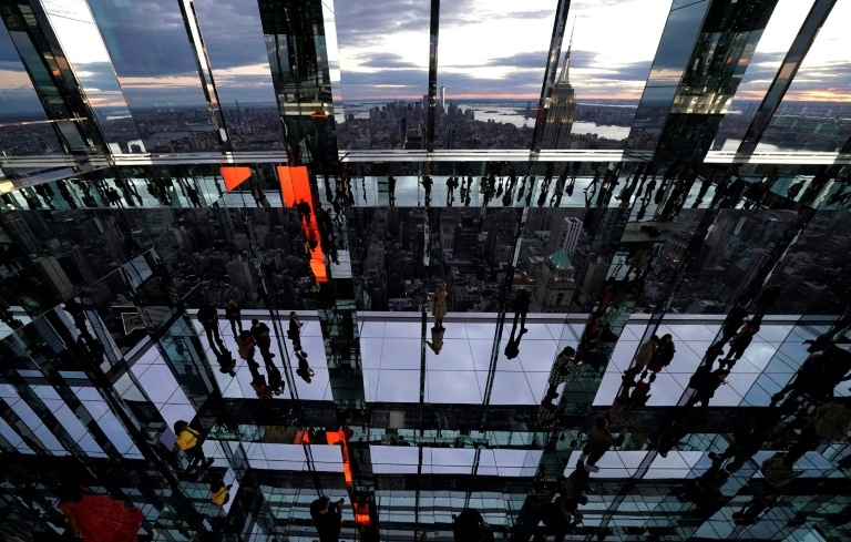 Walking on 'Air': New York's newest skyscraper attraction