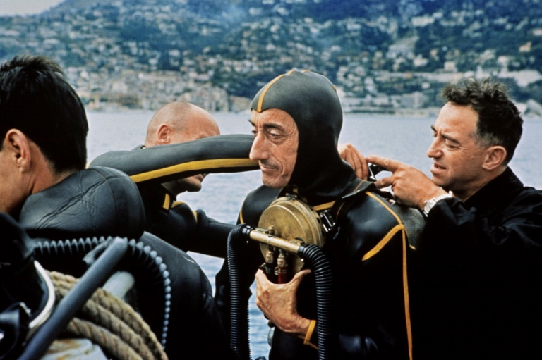 'Becoming Cousteau' plumbs depths of French ocean explorer