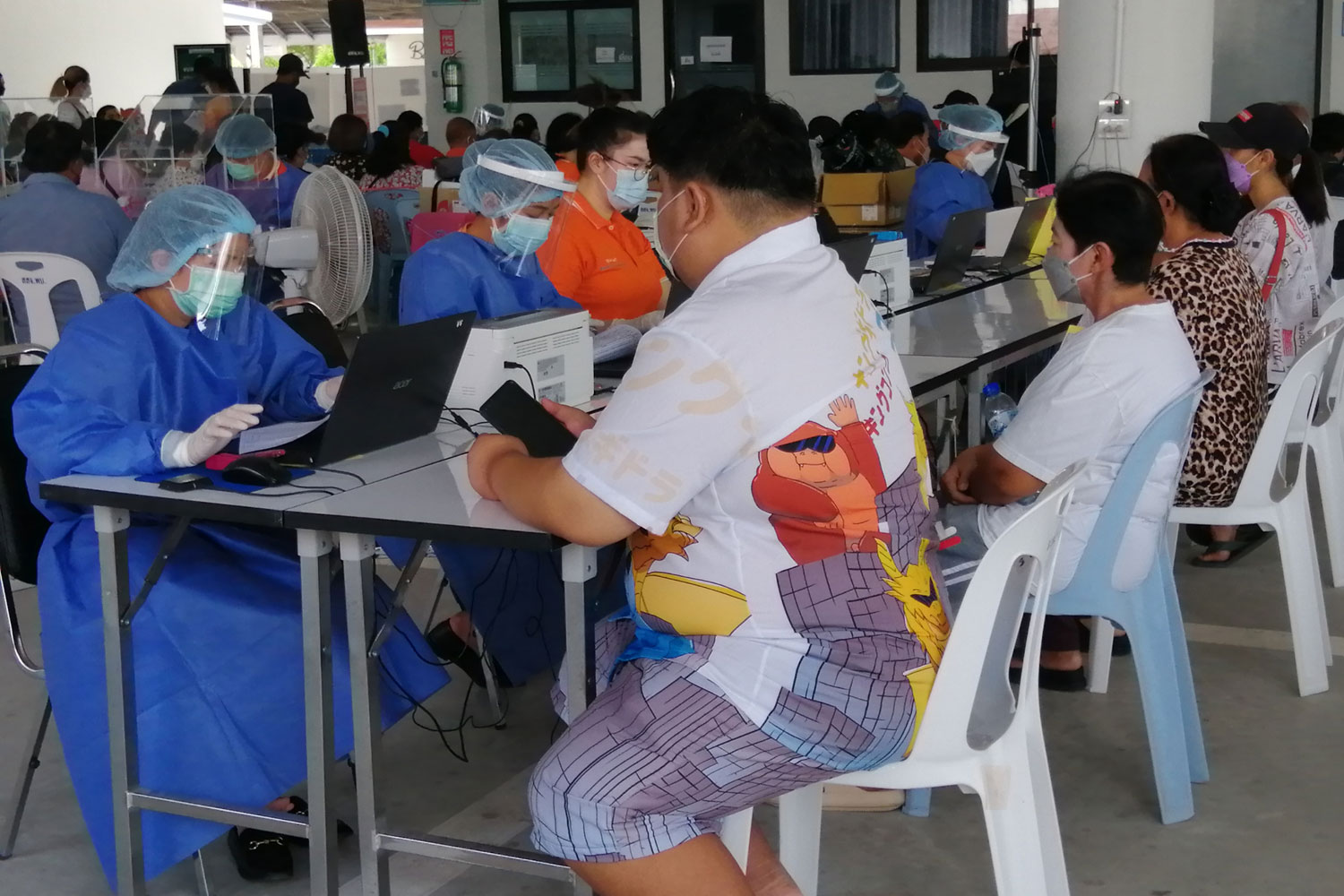 Daily Covid cases spike in Prachuap