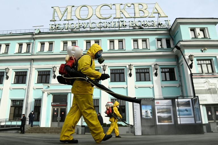 Moscow to shut non-essential services as Covid cases spike