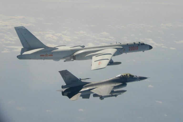China hounds Taiwan with 'greyzone' war plane incursions