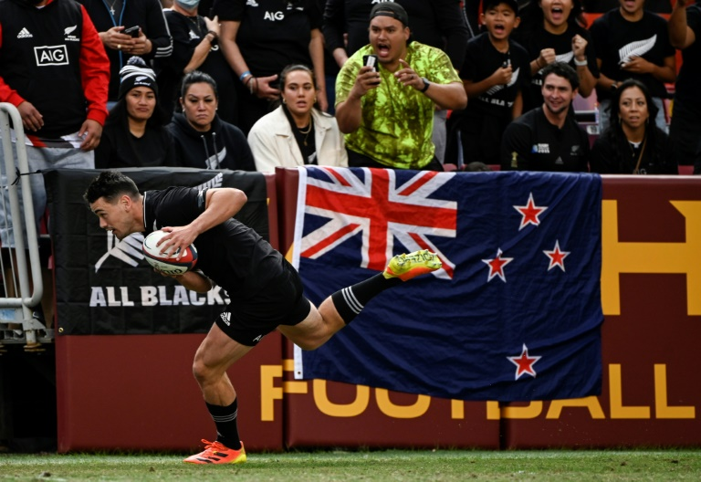 All Blacks overpower US Eagles 104-14 to open northern tour