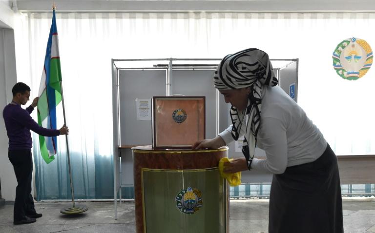 Uzbekistan holds polls with reformist strongman a shoo-in