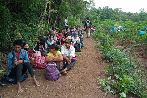 120 border crossers arrested