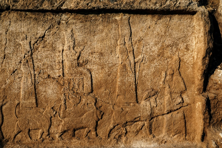 Archaeologists in Iraq find ancient wine press, carvings