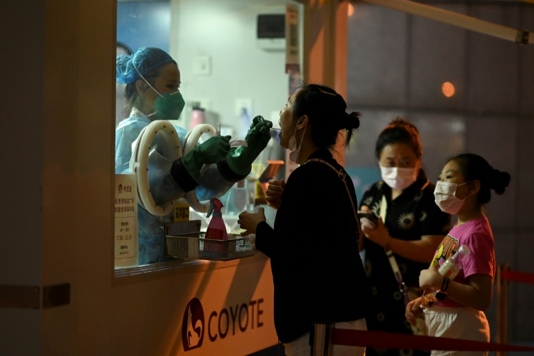 China battles new Covid outbreak with eye on Winter Olympics