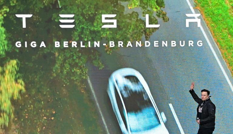 Tesla tops $1tn in market value as Hertz deal fuels latest surge