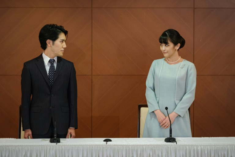 Japan's princess Mako marries years after 'pain' of rumours