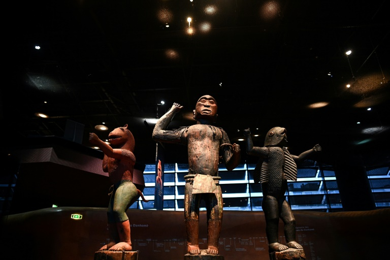 Final show in France for looted Benin treasures