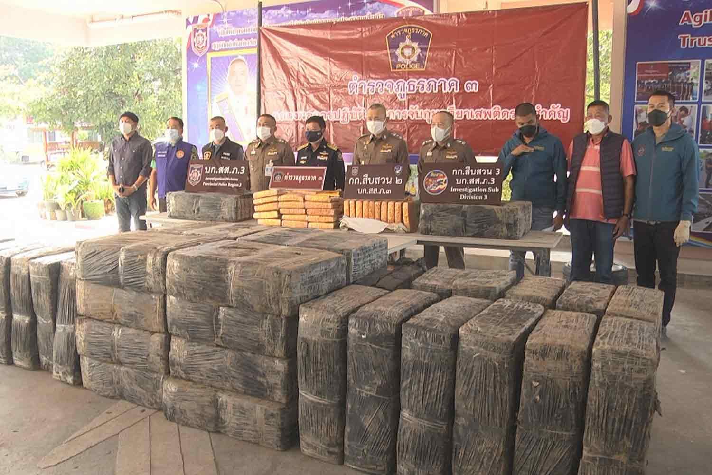 1.8 tonnes of ganja seized in Korat