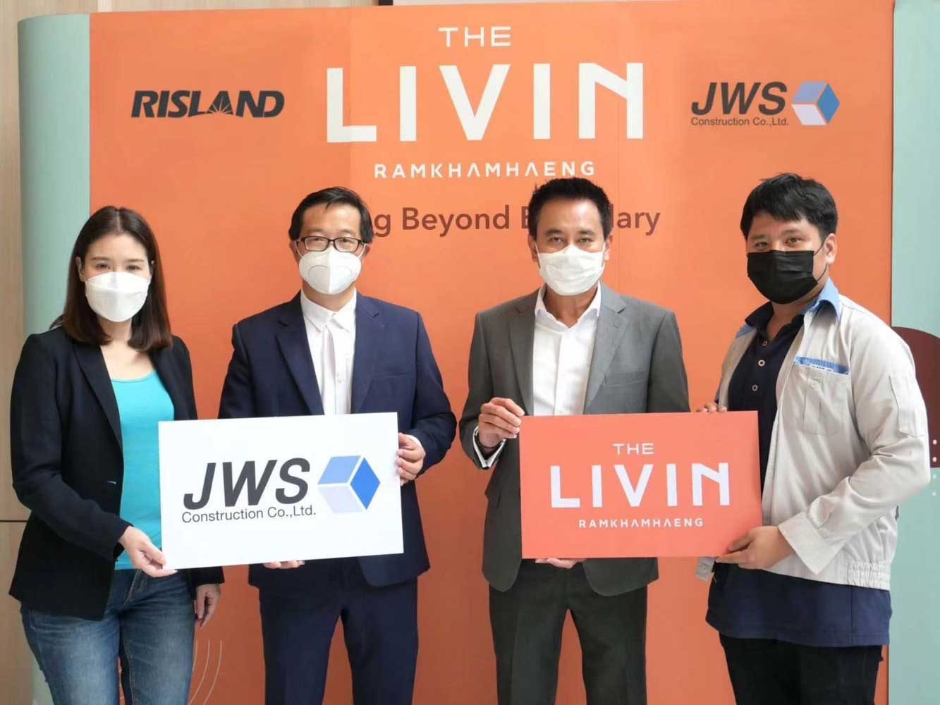 The Livin Ramkhamhaeng appoints JWS as Main Contractor
