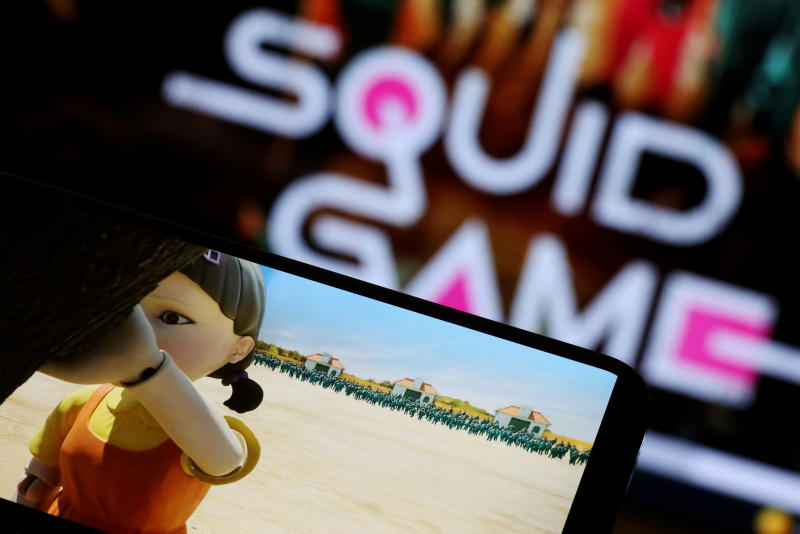 China's e-commerce platforms ban keyword search for Squid Game-related products