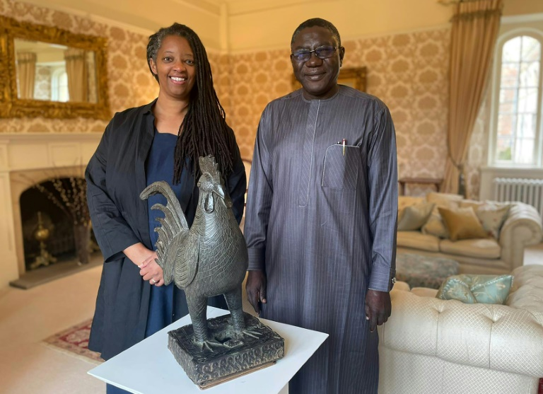 Cambridge college hands back looted African sculpture