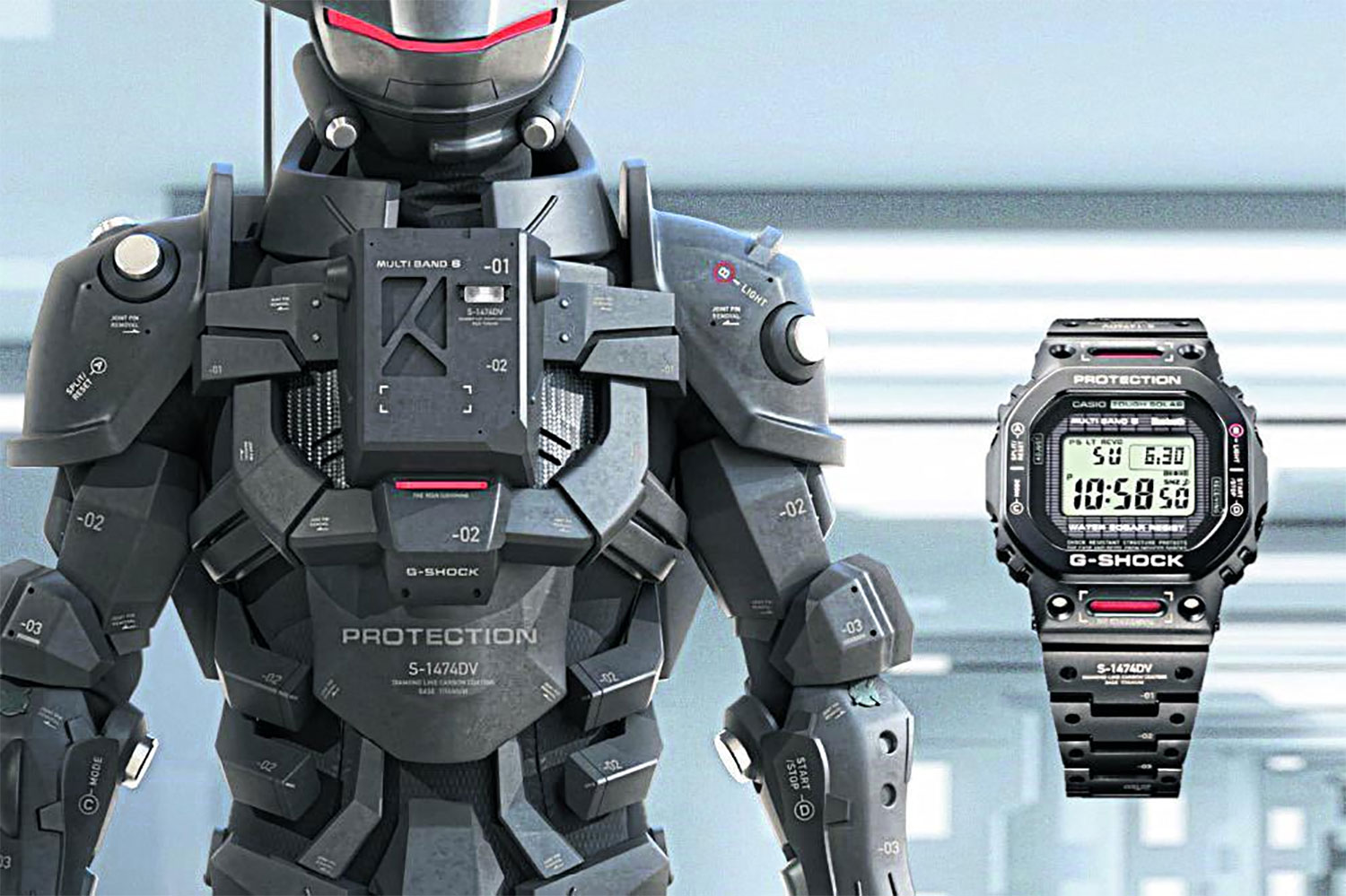 Casio launches extreme G-Shocks