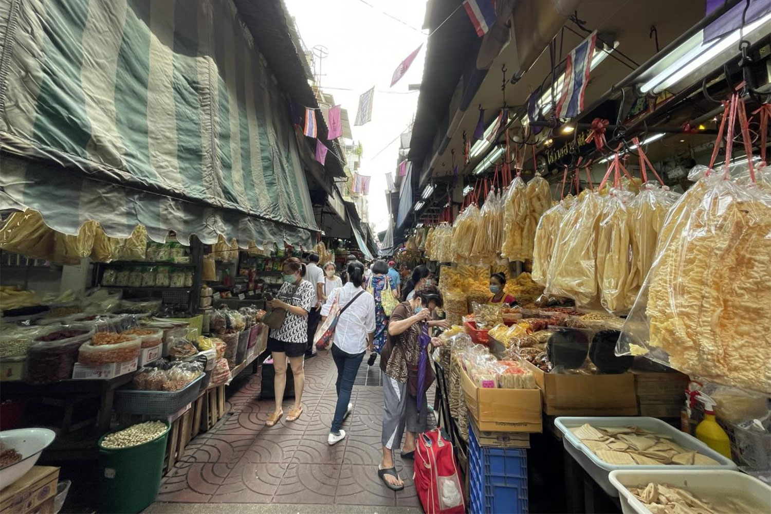 Chinatown preserves its past