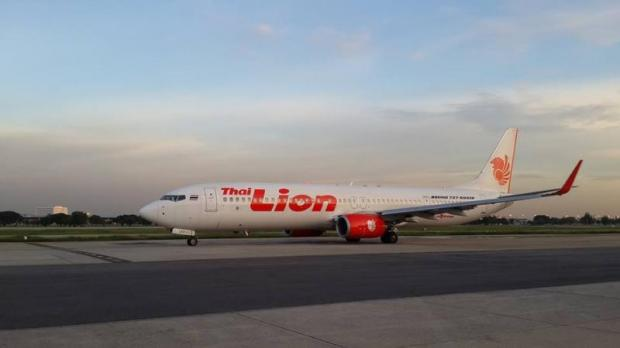Thai Lion Air's B737-900ER. The no-frills carrier has received permission from Myanmar to start flights to Yangon. (Thai Lion Air photo)