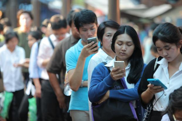 Telenor's study shows young smartphone users are pushing the popularity of new mobile services.WICHAN CHAROENKIATPAKUL