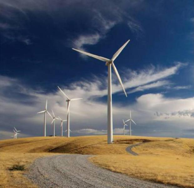 Windy Hill Wind Farm in Queensland, Australia is operated by an affiliate of Thailand-based Ratchaburi Electricity Generating Holding Plc. (Photo courtesy of Ratchaburi Electricity Generating Holding Plc)