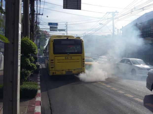 In 2015, scientific measures showed five particularly unhealthy cities for pollution. In order, they were Chiang Mai, Khon Kaen, Lampang, Bangkok and Ratchaburi. (Reuters photo)