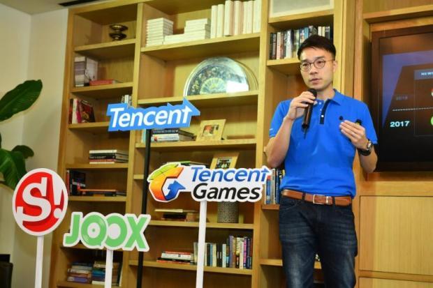 Krittee Manoleehagul, managing director of Tencent Thailand.