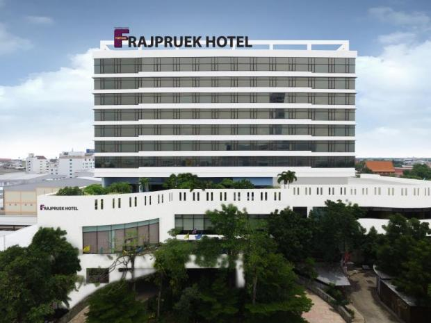 Fortune Rajpruek Hotel, a 10-storey building with 159 rooms, is in Nakhon Ratchasima province.