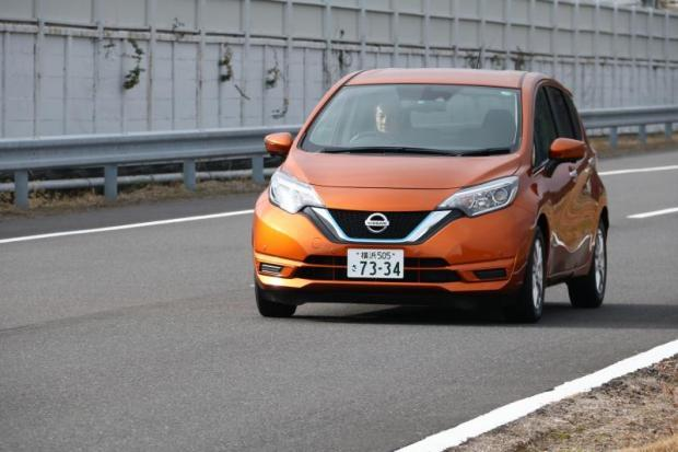 2017 nissan note e power hybrid review bangkok post auto. Black Bedroom Furniture Sets. Home Design Ideas