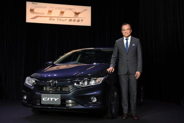 Mr Pitak is upbeat about the car industry this year, with Honda forecasting a 12% growth in car sales to 120,000 units.