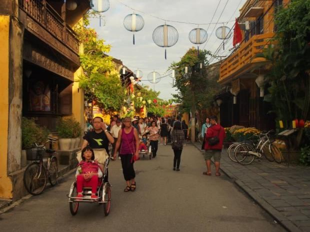 Tourism hub: Hoi An was recognised as a Unesco world heritage site in 1999.