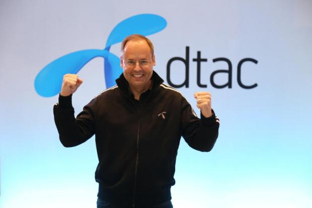 DTAC chief Lars Norling says the company wants to become the nation's core digital service provider.