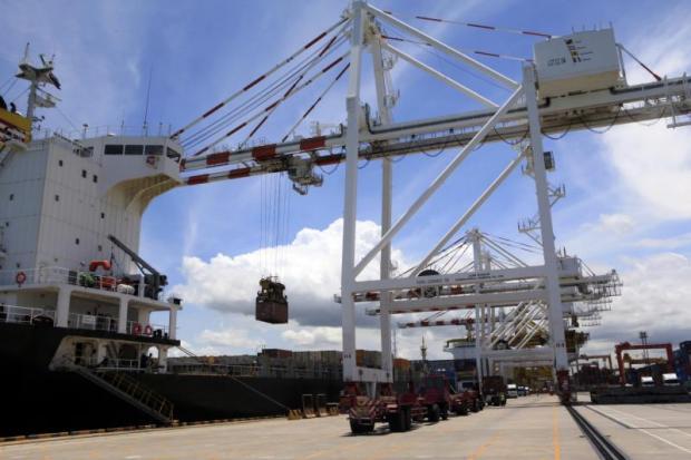 Cranes work at Laem Chabang port in Chon Buri, one of three provinces in the EEC development project. APICHART JINAKUL