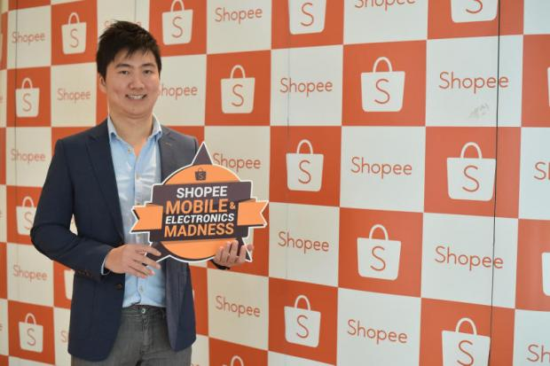 Terence Pang, chief operating officer of Shopee, says he expects online sales to reach 5-10% of retail sales soon.