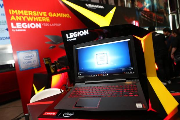 A gaming PC notebook from Lenovo's new brand, Legion, made its debut yesterday at Siam Paragon, aimed at mass-market customers.