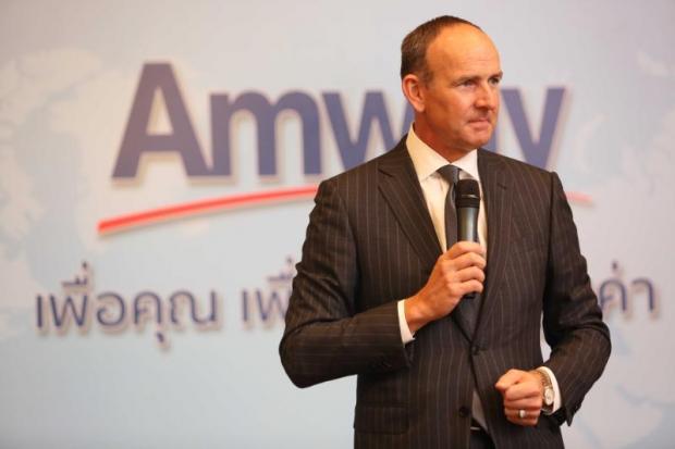 President Doug DeVos says Thailand is an important market for Amway, one of the world's biggest direct sales companies.