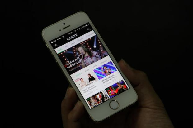 Line TV fires up video content to tap ad spending