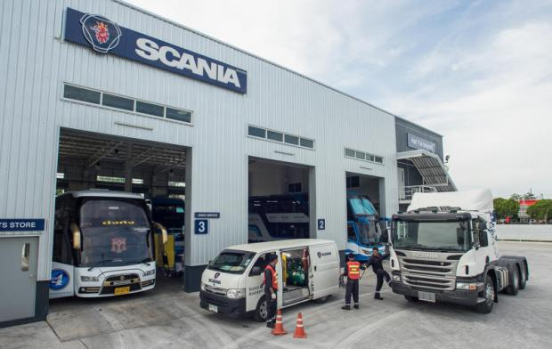 Scania Siam, the local arm of the Swedish bus and truck maker, operates this service centre on Bang Na-Trat Road.