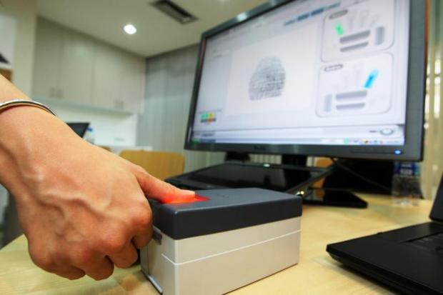Mobile SIM card users are being encouraged to register for the online fingerprint ID system.