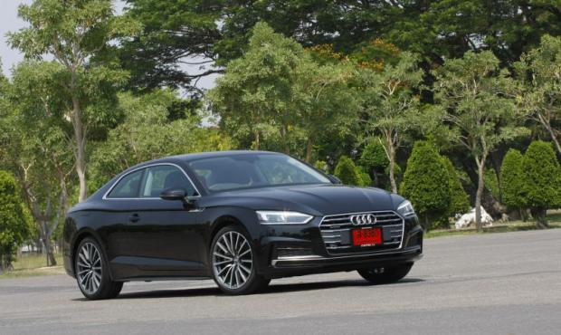 audi a5 coupe 45 tfsi (2017) review | bangkok post: auto