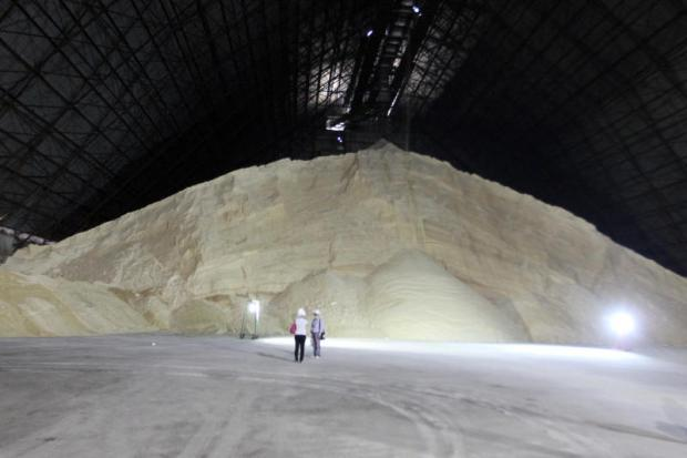A KTIS production plant in Nakhon Sawan province. Rising sugar production is expected to help the company capitalise on growing global sugar prices.