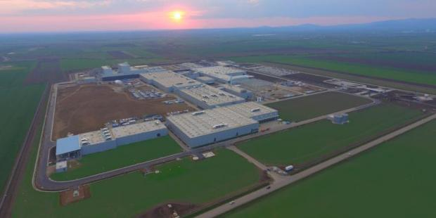 The new Apollo factory in Gyöngyöshalász, less than 100 kilometres from Budapest, is the company's first greenfield operation outside of India. (Supplied photo)