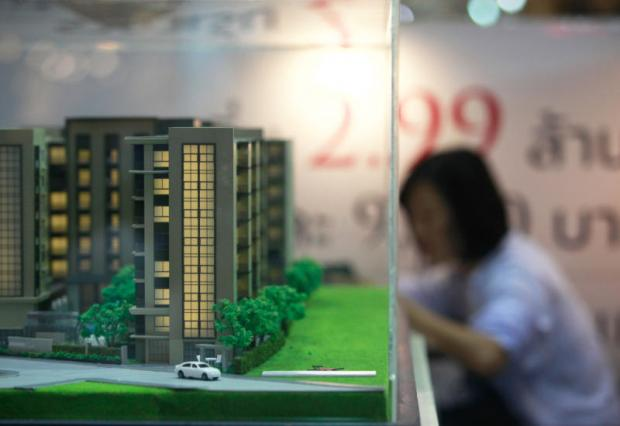 A condominium project model at a housing fair. Thailand is ranked the fifth favourite country for Chinese property buyers.PAWAT LAOPAISARNTAKSIN
