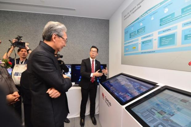 Huawei launched its OpenLab Bangkok at G Tower to provide one-stop ICT infrastructure support and facilitate Thailand's digital transformation drive on Thursday.