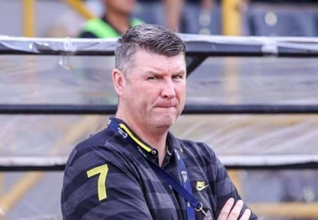 English coach Jason Withe. PR