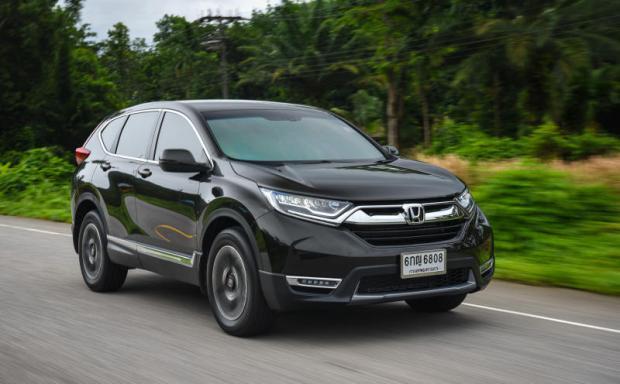 Honda Cr V 1 6 Diesel Turbo 2017 Review Bangkok Post Auto