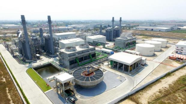A power plant located in Amata City in Chon Buri province. Amata Corporation this year will focus more on revenue from recurring income, which creates sustainable revenue in the long-term. It also expects rising sales of developed land to boost revenue this year.