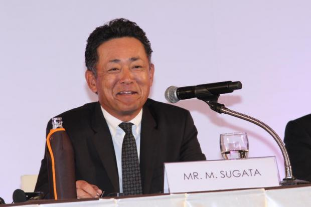 Mr Sugata says the company will apply for privileges to make hybrid electric vehicles.